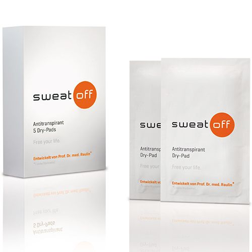 SWEAT OFF Antiperspirant Dry Pads